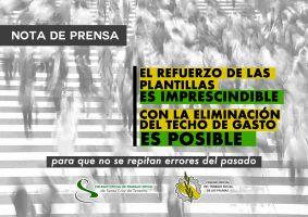 Refuerzo de plantillas de Educación, Sanidad y Servicios Sociales - Trabajo Social Las Palmas