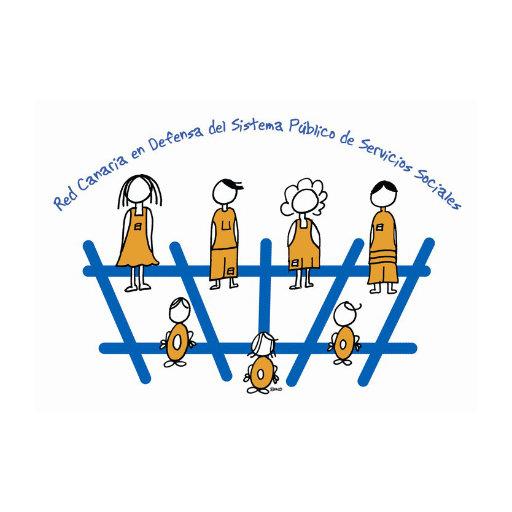 Logo Red Canaria en Defensa del Sistema Público de Servicios Sociales
